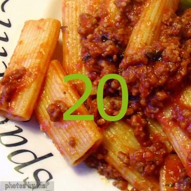 Rigatoni alla bolognese light, diario di una dieta - Giorno 20, Mangia senza Pancia