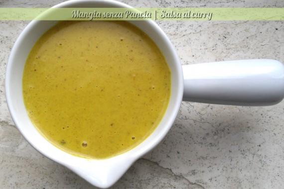 Salsa al curry light, ricetta base