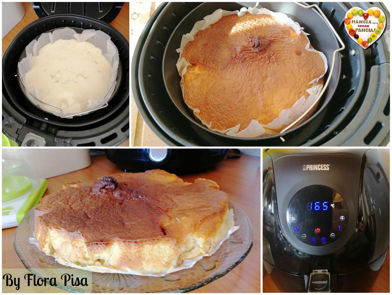 Torta di mele e cannella, friggitrice ad aria di Flora Pisa, Mangia senza Pancia