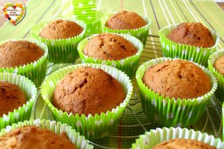 Muffins alla zucca leggeri Speculaas