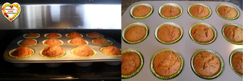 Muffins alla zucca leggeri speculaas, ricetta dolce, Mangia senza Pancia