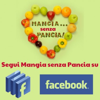 Mangia senza Pancia: un blog dieta su facebook