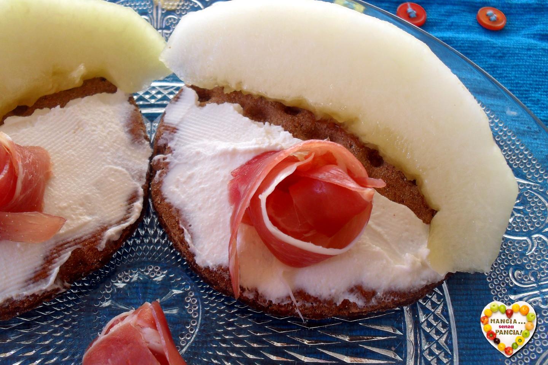 Crostini prosciutto e melone, Mangia senza Pancia