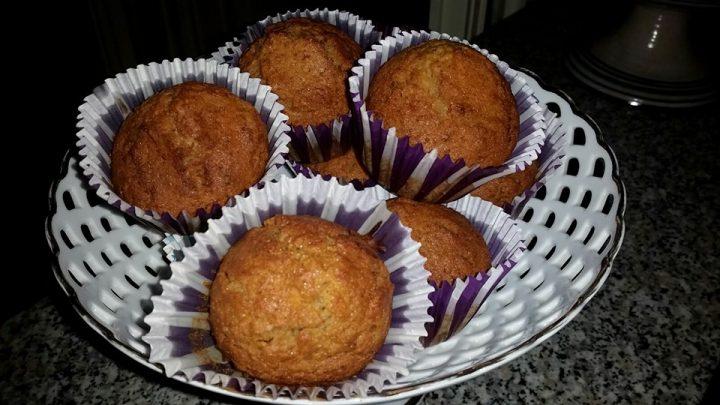 """Muffins alla zucca """"speculaas"""", fatti da Anna Iovine con olio, Mangia senza Pancia"""