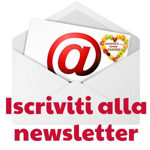 iscriviti alla newsletter, Mangia senza Pancia