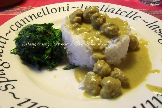 Polpettine al curry, diario di una dieta - Giorno 440, Mangia senza Pancia