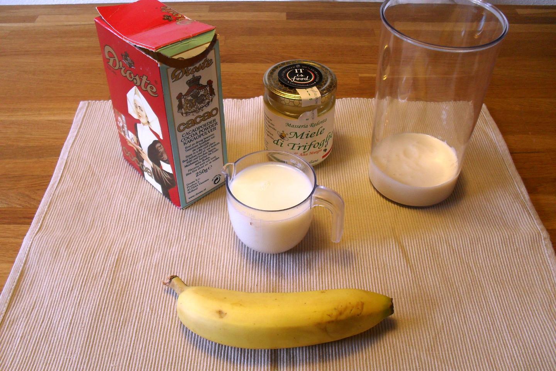 Frullato banana e cacao, Mangia senza Pancia