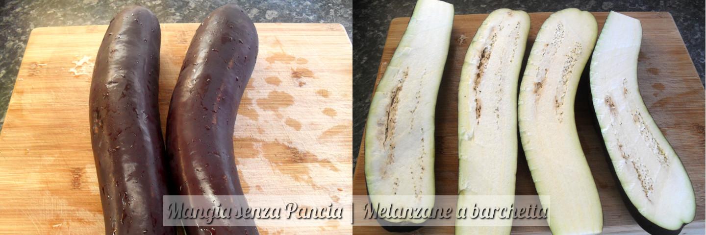 Melanzane a barchetta, ricetta facile, Mangia senza Pancia - preparazione 1