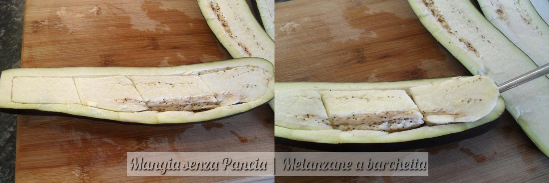 Melanzane a barchetta, ricetta facile, Mangia senza Pancia - preparazione 2