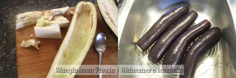 Melanzane a barchetta, ricetta facile, Mangia senza Pancia - preparazione 3