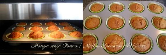 """Muffins alla zucca """"speculaas"""", ricetta dolce, Mangia senza Pancia"""
