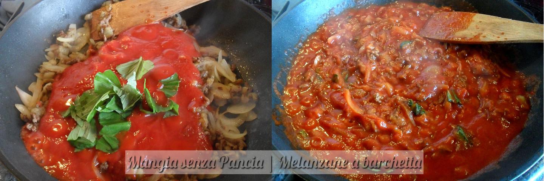 Melanzane a barchetta, ricetta facile, Mangia senza Pancia - preparazione 6