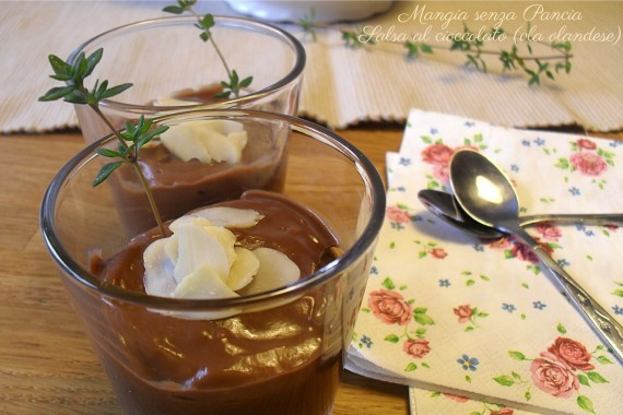 "Salsa al cioccolato olandese ""vla"""