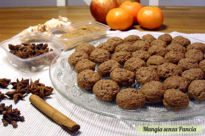 Biscottini speziati Kruidnoten, ricetta olandese, Mangia senza Pancia
