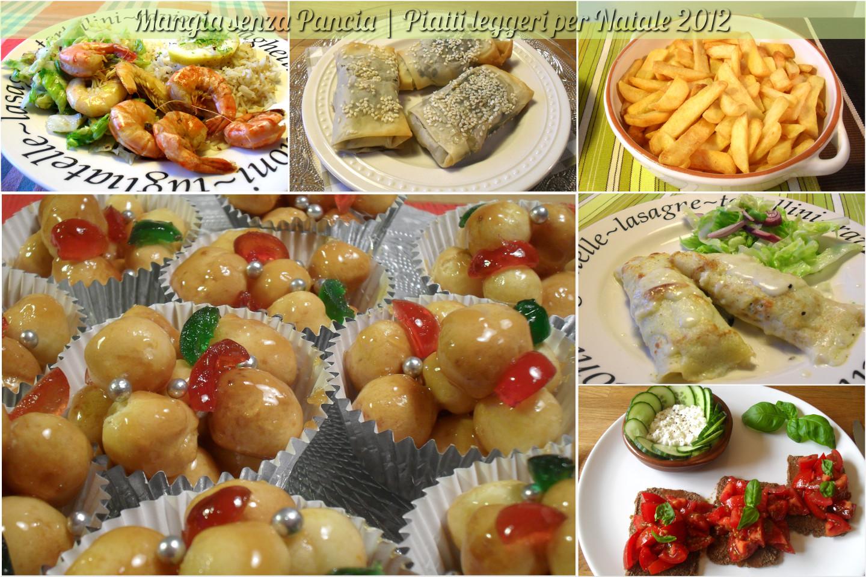 piatti leggeri per natale, collezione di ricette 2012, Mangia senza Pancia