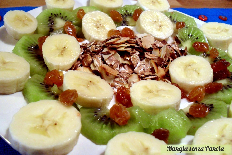 Ben noto Yogurt con avena croccante e frutta - colazione leggera FR76