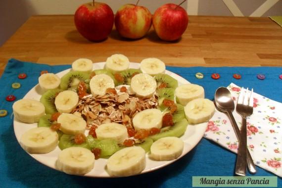 Yogurt con avena croccante e frutta, Mangia senza Pancia
