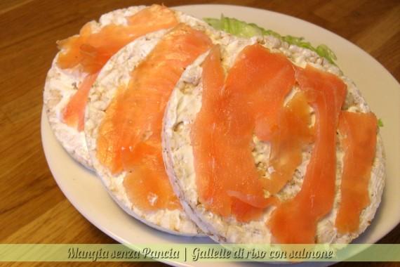 Gallette di riso con salmone, diario di una dieta - Giorno 173, Mangia senza Pancia