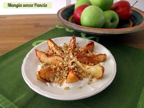 Crumble alla mela light, Mangia senza Pancia