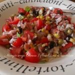 Insalatina di riso veloce, diario di una dieta, menu dieta weight watchers, Mangia senza Pancia