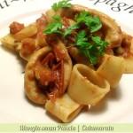 Calamarata, ricetta napoletana, menu dieta, Mangia senza Pancia