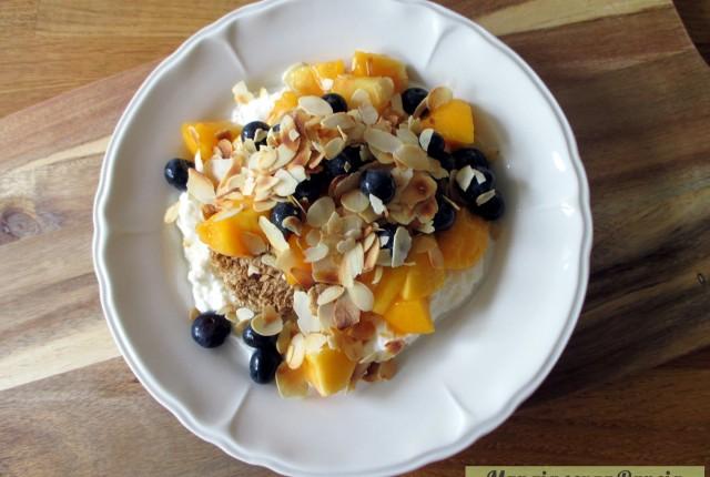 Weetabix yogurt e frutta