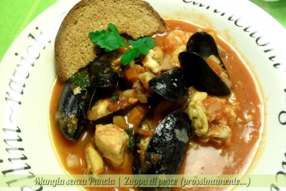 Zuppa di pesce, diario di una dieta - Giorno 215, Mangia senza Pancia