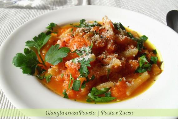 Pasta e zucca, diario di una dieta - Giorno 407, Mangia senza Pancia