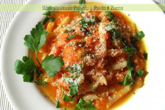 Pasta e zucca, ricetta leggera vegetariana