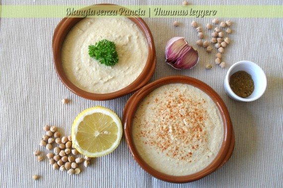 Hummus leggero, diario di una dieta - Giorno 466 - Pesata 62 *goal*, Mangia senza Pancia