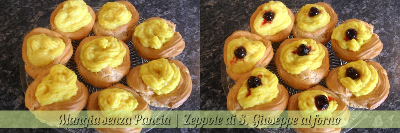 Zeppole di San Giuseppe al forno, ricetta partenopea, Mangia senza Pancia