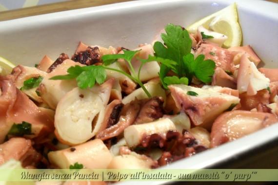 Polpo all'insalata, diario di una dieta - Giorno 408, Mangia senza Pancia