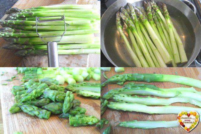 Tortino asparagi e pecorino, Mangia senza Pancia