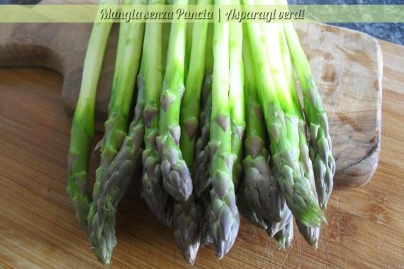 asparagi verdi, ingrediente base, Mangia senza Pancia