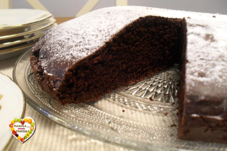 Panettone Senza Uova Bimby.Torta Cioccolato E Arancia Senza Uova O Grassi