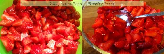 Fragole e limone, ricetta base, Mangia senza Pancia