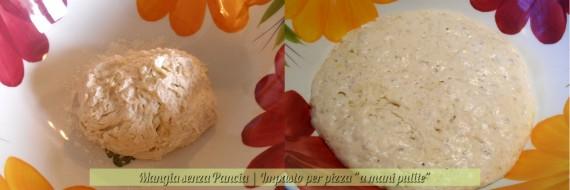 Impasto per pizza a mani pulite, diario di una dieta - Giorno 446, Mangia senza Pancia
