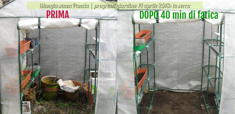 Progressi Giardino   Serra, Diario Di Una Dieta   Giorno 245, Mangia Senza  Pancia