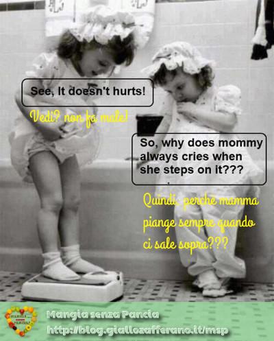 bilancia mamma, diario di una dieta - Giorno 291 - Pesata 41, Mangia senza Pancia