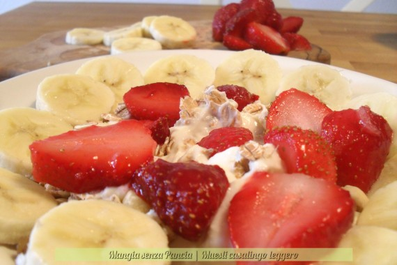 Muesli casalingo leggero, ricetta veloce, oltre la dieta: il diario - 26 marzo 2014, Mangia senza Pancia