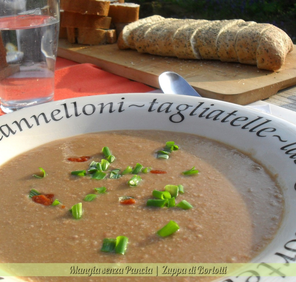 Zuppa di Borlotti, ricetta leggera, oltre la dieta: il diario - 29 marzo 2014, Mangia senza Pancia