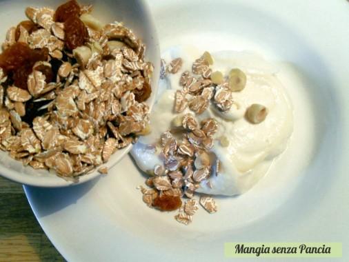 Muesli casalingo leggero, diario di una dieta - Giorno 296, Mangia senza Pancia