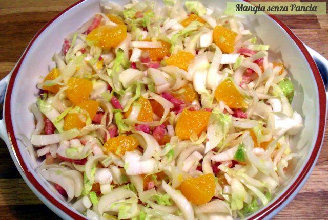 Indivia belga agrodolce, ricetta leggera, Mangia senza Pancia