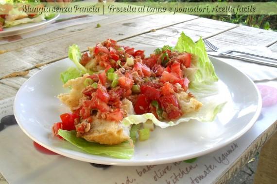 Fresella tonno e pomodoro, diario di una dieta - Giorno 446, Mangia senza Pancia
