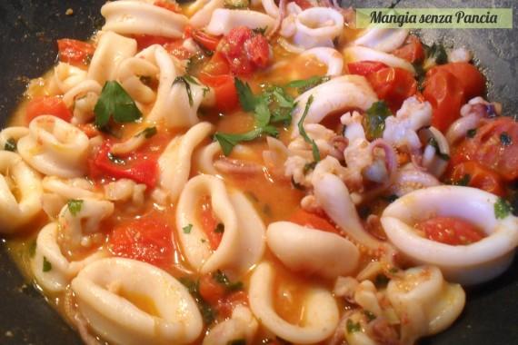 Calamarata, ricetta napoletana, oltre la dieta: il diario - 1 febbraio 2014 PM10, Mangia senza Pancia