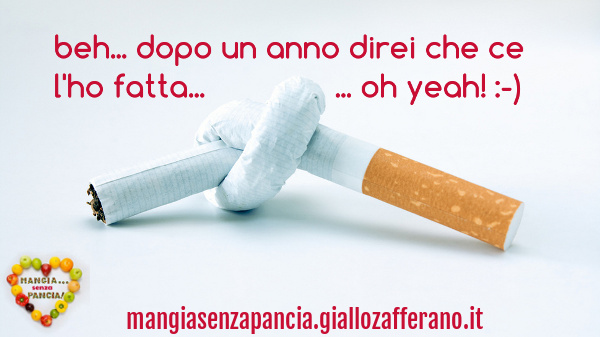 Quando smesso fumando e diventa grasso