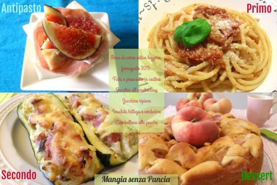 Menu di carne estivo leggero, ferragosto 2013, Mangia senza Pancia
