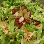 insalata lattuga e verdurine, Mangia senza Pancia