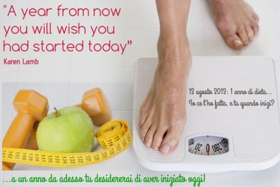 a year from now 2, diario di una dieta - Giorno 366, Mangia senza Pancia