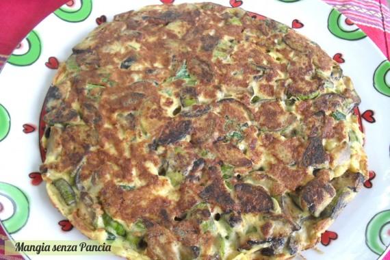 Frittata di zucchine light, diario di una dieta - Giorno 423, Mangia senza Pancia
